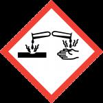 Warning: Corrosive