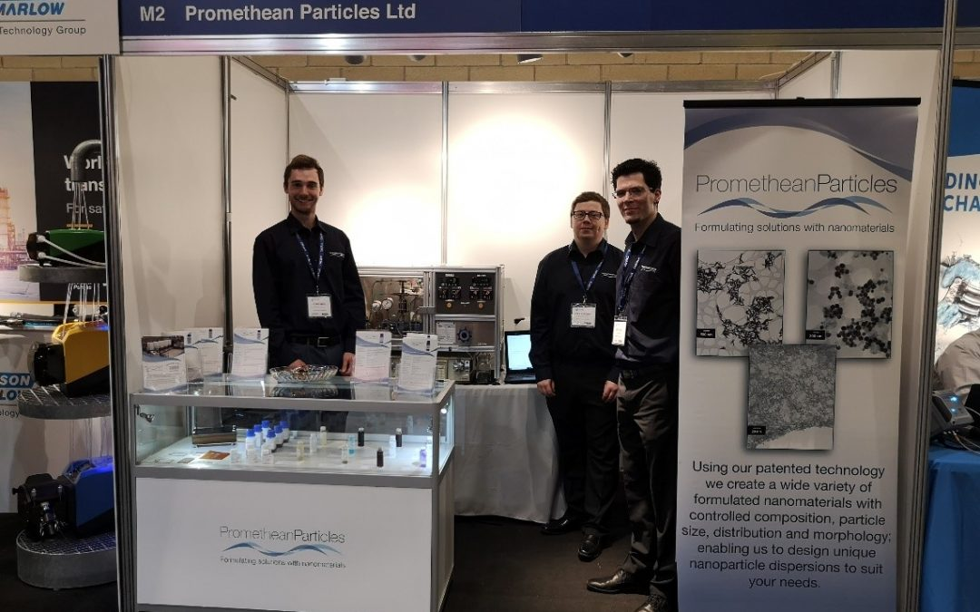 Small Company, Large Impact: Promethean Particles at CHEMUK 2019 Expo