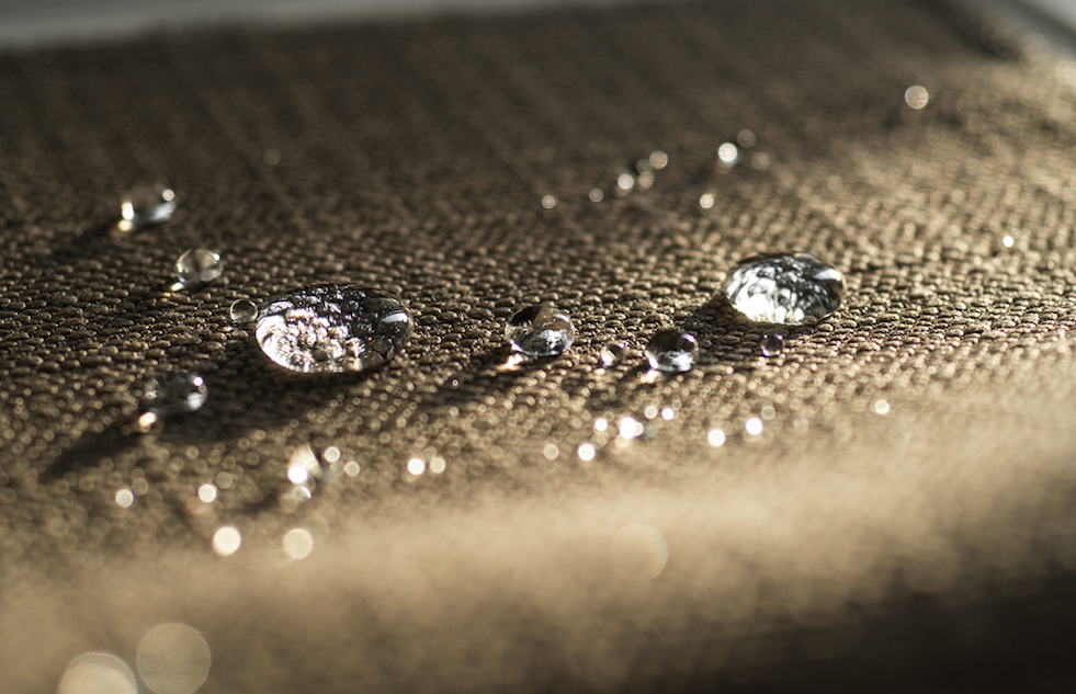 Nanomaterials could hold the secret to safe, sustainable water repellent fabrics